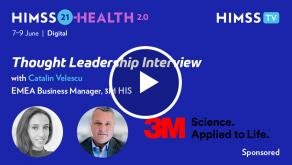 Catalin Velescu, EMEA business manager at 3M Health Information Systems