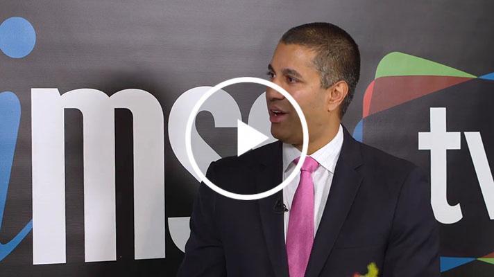 Ajit Pai talks to himss tv