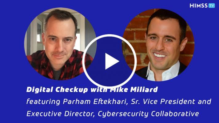 Parham Eftekhari, executive director of the Cybersecurity Collaborative