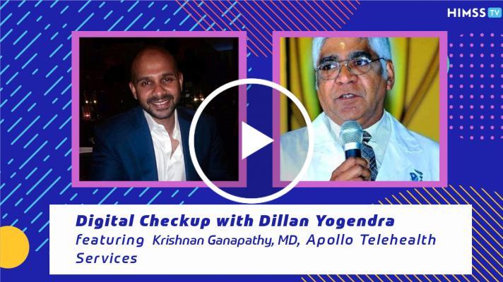 Professor Krishnan Ganapathy, director of Apollo Telehealth Services