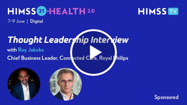 Roy Jakobs, chief business leader of connected care at Royal Philips