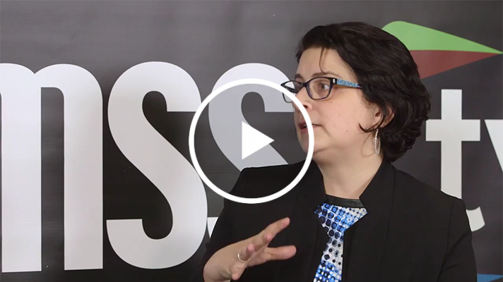 Jennifer Esposito talks to HIMSS TV