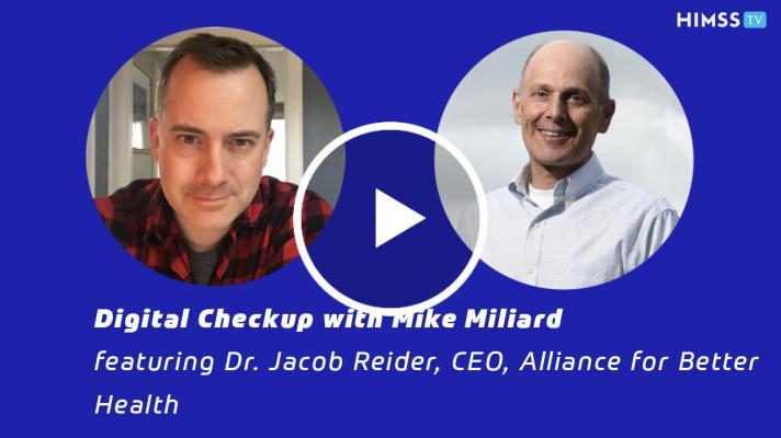 Alliance for Better Health CEO Dr. Jacob Reider
