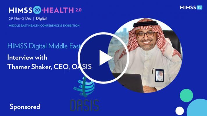 OASIS CEO Thamer Shaker