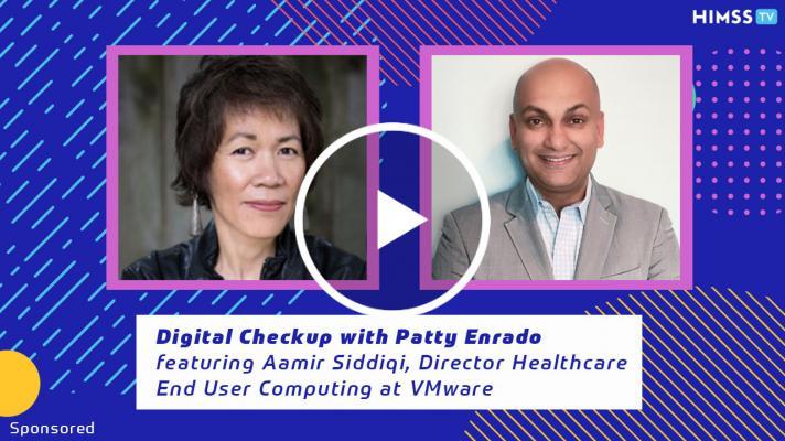 Aamir Siddiqi, VMware's director of Healthcare End User Computing