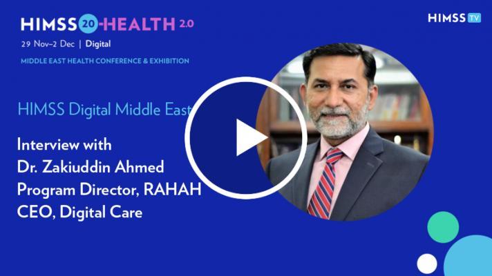 Digital Care CEO Dr. Zakiuddin Ahmed