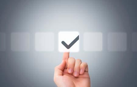 Pressing checkbox button