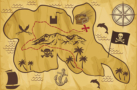 ICD-10 Treasure map