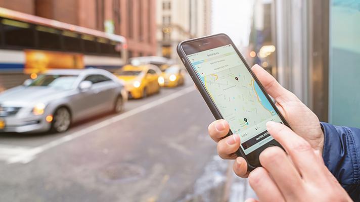 Uber Health transportation app