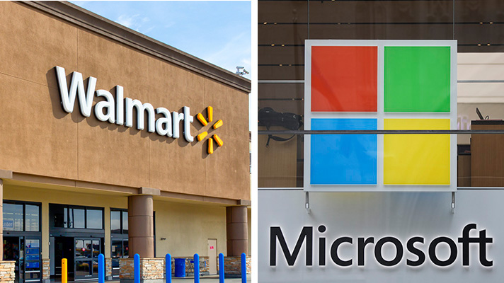 Microsoft, Walmart ink AI, cloud pact to take on Amazon