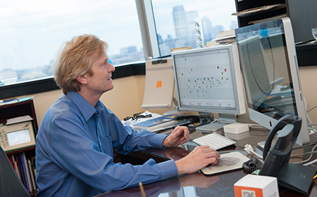 Christopher Walsh, MD, chief of genetics at Boston Children's Hospital