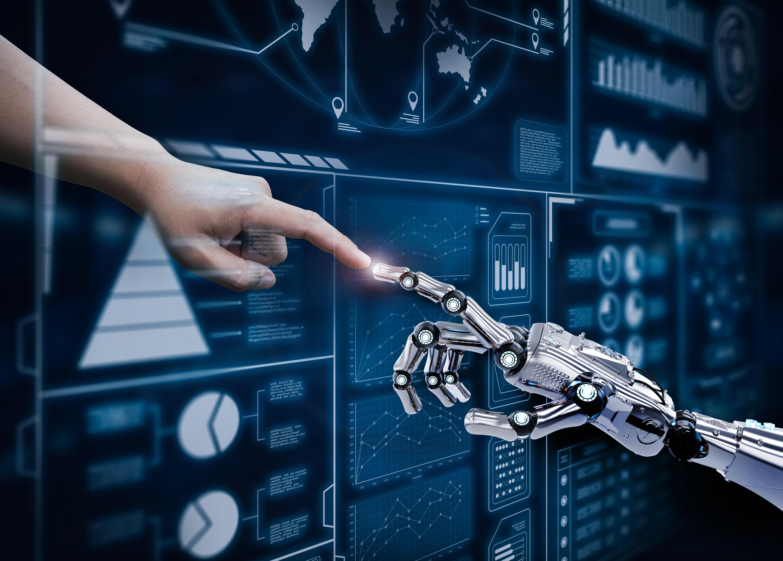 Робот и бизнес картинки